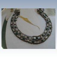 Art Deco Enameled Bracelet