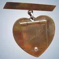 French World War Two Sweet Heart Locket