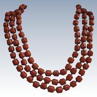 DeMario Faux Coral Necklace