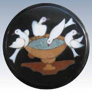 Antique Pietra Dura Plaque     Pliny's Doves
