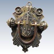 Victorian Etruscan Revival 14K Locket