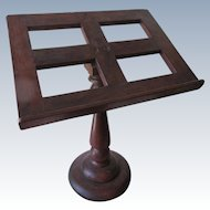 Antique Bible Stand, Guest list Holder, Music Stand