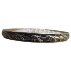 Vintage Sterling Felch co Danecraft Bangle Bracelet