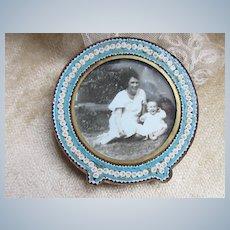Older Vintage Micro Mosaic Frame