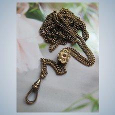 Antique Victorian 48'' Ladies Watch Chain