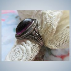 Vintage Sterling Arts and Crafts Ring