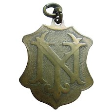 Antique U S S New York Launched Oct 30 1912 Medal - Fob