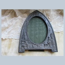 Vintage Ornate Frame Signed JB