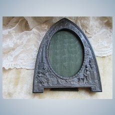 Vintage Ornate Frame Signed JB