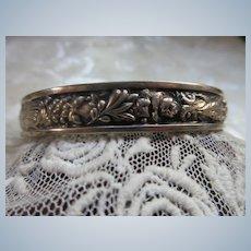 Portuguese Silver Bangle
