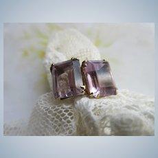 Vintage 10K Amethyst Ring