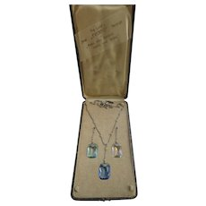 Vintage Deco Ideal Everfit Necklet Boxed Set
