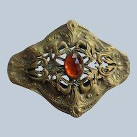 Antique Art Nouveau Sash Pin
