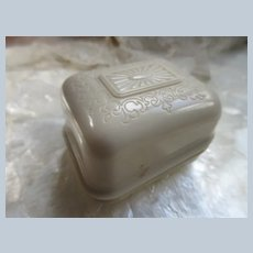 Vintage Celluloid Ring Box Buffalo Jewelry Case Co
