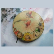 Older Vintage Pinback Circus Button