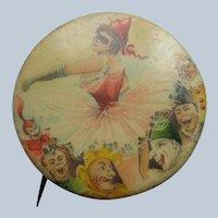Older Vintage Pinback Circus Button