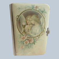 Victorian Celluloid Bread Of Angels Prayer Book