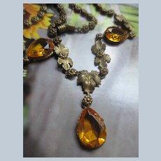 Older Vintage Fishel Nessler Necklace