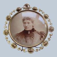 Antique Victorian Framed Photo