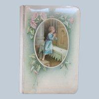 Older Vintage Celluloid The Prayer Book For Children Belgium