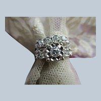 Vintage 14K Diamond Wedding Set circa 1950