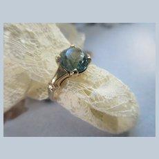 Older Vintage Ostby Barton 10K Zircon Ring