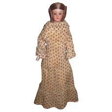 "EXCEPTIONAL Rare Large Size Antique German 8"" Simon & Halbig ""Little Women"" Lady Doll!"