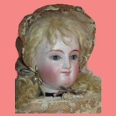 """Ethereal 18 1/2"""" Antique French Bru Smiler ENFANTINE FASHION Doll!"""