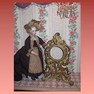 GORGEOUS Ornate Victorian Gilded Cherub Picture Frame/Watch Holder