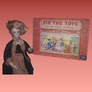"""CHARMING HTF Vintage Circa 1950 """"Fix the Toys Book"""" By Dorothy King!"""
