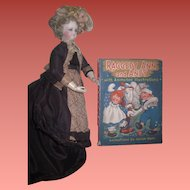 """CHARMING Circa 1944 """"Raggedy Ann and Andy"""" Book with Animated Illustrations~AS FOUND!"""