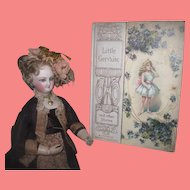 """EXQUISITE Antique Miniature """"Little Gervaise and Other Stories"""" Ilustrated Children's Book!"""