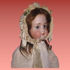 "SALE! Magnificent Large 28"" Antique Kammer & Reinhardt Bisque Head Child Doll~EXCEPTIONAL!"