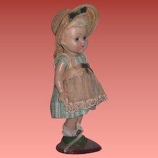 "SALE! Vintage Early 1950's Strung Factory Original ""Poodle Cut"" Vogue Ginny Doll!"