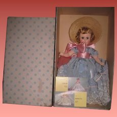 "PRISTINE MIB 1952 ""Heavenly Blue"" Nancy Ann Styleshow with Original Hangtag, Box, Brochure!"