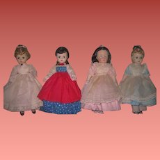 "HOLIDAY SALE! All Original Set of Vintage Madame Alexander ""Little Women"" Dolls~LISSY & NANCY DREW Faces!"