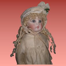 "HOLIDAY PRICE!  Exceptional Tiny 11 1/2"" Antique BELTON BRU Bebe in Original Ensemble!"
