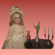FABULOUS Set of 3 Vintage Miniature Dollhouse Decorative Accessories!