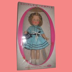 """SALE! Exceptional 15"""" MIB Vintage Ideal Toy Company Vinyl Shirley Temple Doll with ACCESSORIES!"""