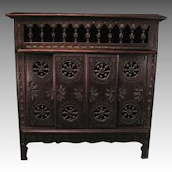 Miniature French Brittany Chest Armoire Storage for your Fashion Doll