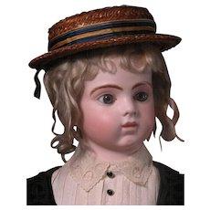 "32"" Bru Jne 14 Bebe Mannequin Boy Articulated Fingers Original Costume"