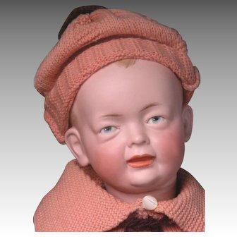"19"" Rare Kley and Hahn 525 Character Boy Possibly Original Clothing"