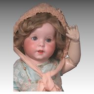 "19 1/2"" SFBJ 247 known as Twirp on Toddler Body"