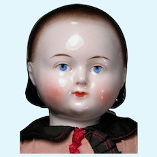 """15"""" Taufling Body China with Alice Hairdo in Largest Size"""