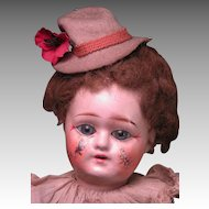 """14"""" Factory Original French Clown with Decorated Face"""