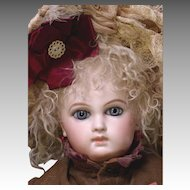 """18"""" First Series Early Portrait Jumeau Size 3"""