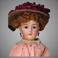 "19"" Simon Halbig 1159 Shapely and Stunning Lady Doll"