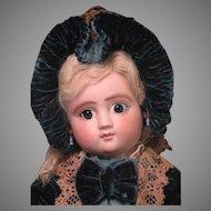 "12"" Series C Steiner Bebe with Lever Eyes, Factory Original Costume"