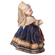 """11"""" Au Nain Bleu Paris Boutique Labeled Simon Halbig 1079 Doll"""