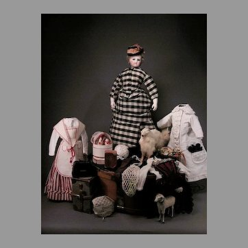 """15"""" Barrois Fashion and Her Country Wardrobe"""